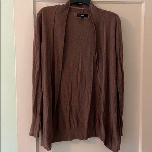 Mossimo brown cardigan
